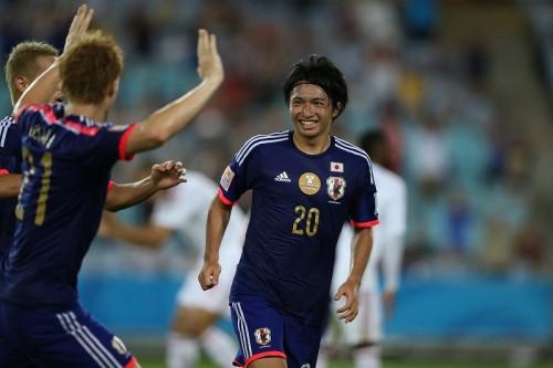 アギーレ氏に感謝示す柴崎「日本代表の一歩を踏み出させてくれた」