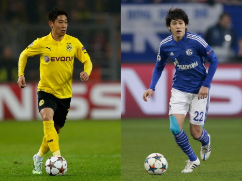 日本人対決が期待されるダービー、香川&内田が揃って出場に黄信号