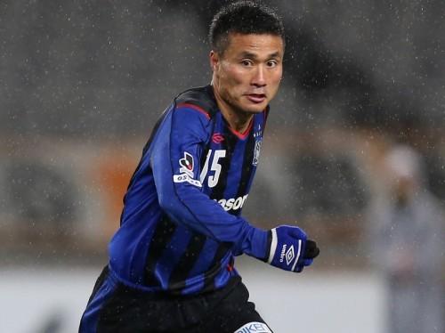 G大阪の代表MF今野、練習試合で左大腿ハムストリングを負傷