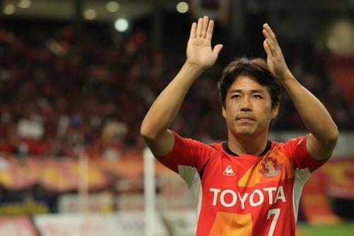 名古屋、開幕戦前に同クラブ一筋を貫いた中村直志氏の引退試合を開催
