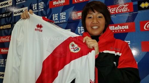 将来のなでしこ入り目指す大島茉莉花、スペインのラージョと正式契約