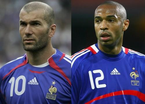 フランス、代表で活躍のレジェンドを表彰…ジダン氏やアンリ氏など