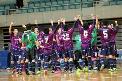 Fリーグ勢が勝ち進んだ1次Rも、一石を投じた関東勢の意地/PUMA CUP 2015