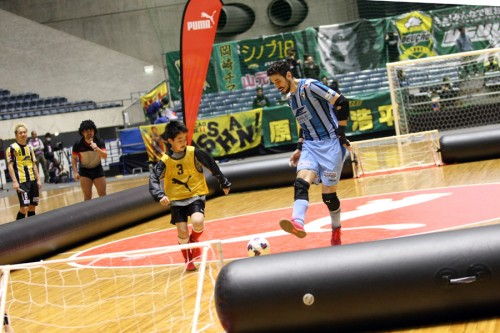 GKイゴールがFPで足技を披露!? 大会を盛り上げたプーマイベント/PUMA CUP 2015