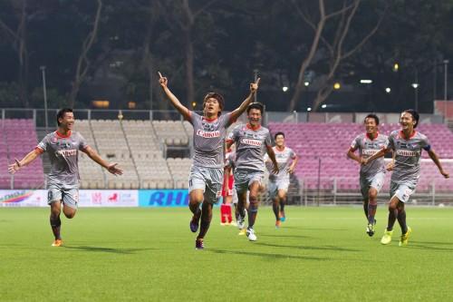アルビレックス新潟シンガポールが井畑翔太郎の一撃で今季初の連勝