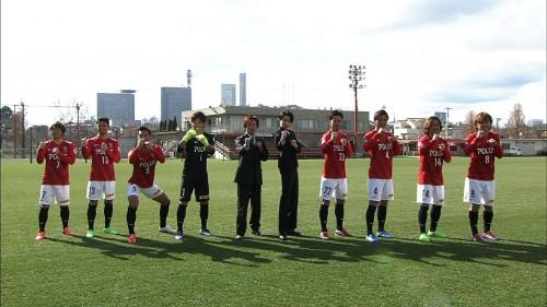 浦和の8選手が「アルゴリズムたいそう」に挑戦…放送は4月4日