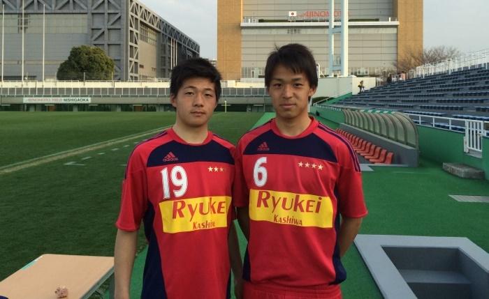 木村稜斗(左) 松本雅也(右)