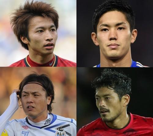 スカパー調査のイケメンJリーガー、3位は遠藤、2位は武藤、1位は?