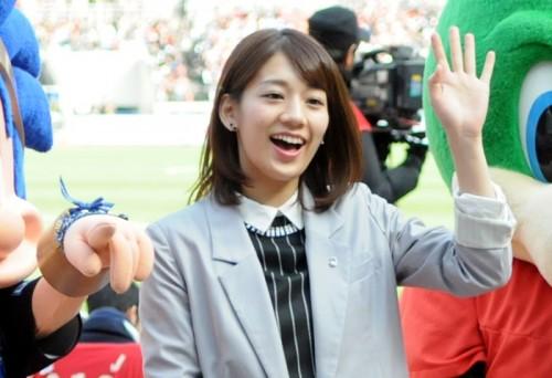 Jリーグ女子マネの佐藤美希さんが、J2第3節の栃木vs千葉戦に来場