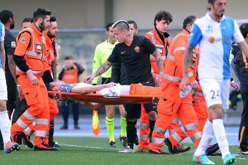 キエーヴォの19歳MFマッティエッロが右足骨折で7カ月の離脱か