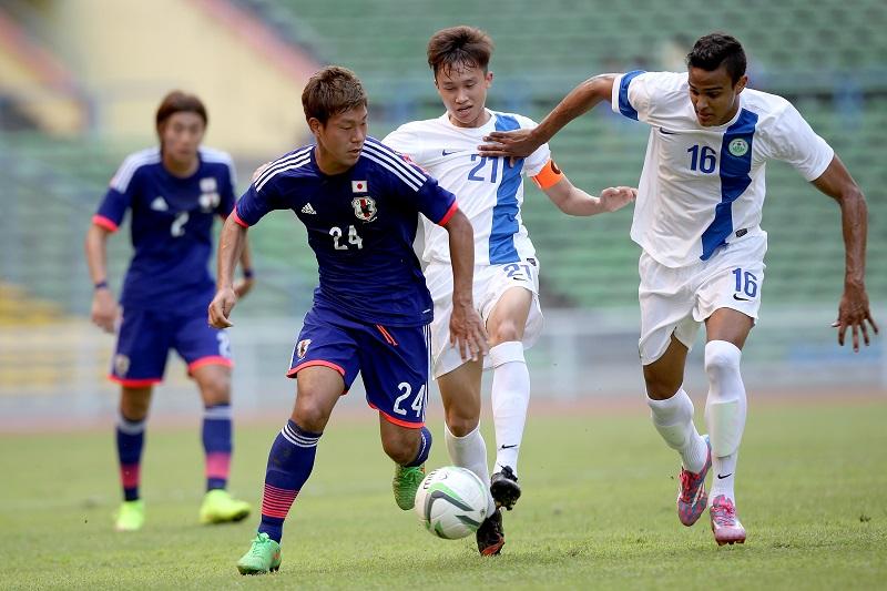 U-22日本代表が7得点で勝利…マ...