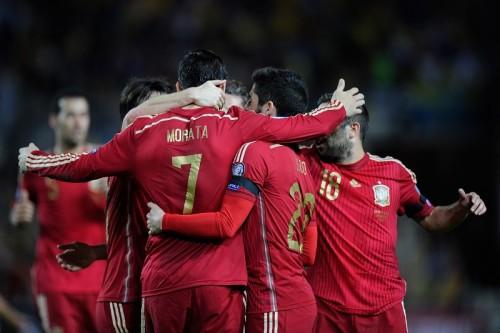 スペイン代表FWモラタ、初得点を喜ぶも「最高のゲームではなかった」
