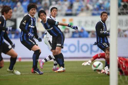 開幕戦2得点の活躍…笑みを見せた武藤嘉紀「熱い気持ちを忘れない」