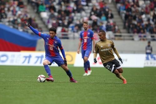 Jデビューの横浜FMアデミウソン「早く日本のサッカーに慣れたい」