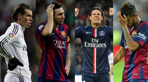 欧州5大リーグで最も決定機を外しているのは?各国のエースもランクイン…