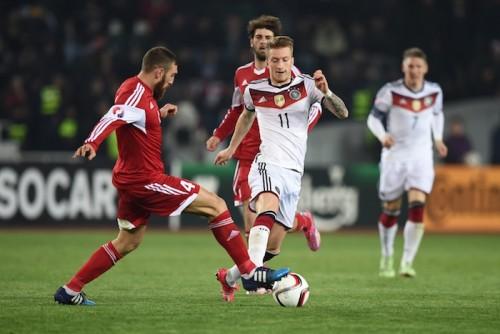 ドイツが敵地でグルジアに勝利…ユーロ予選3勝目で首位に肉薄