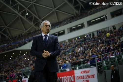 新戦力が躍動…ハリルホジッチ監督、大量5得点を称賛「ブラボー」