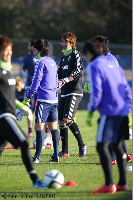 2015.3.24 日本代表練習風景