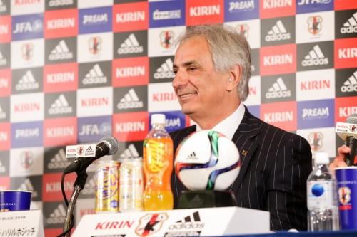 オシム氏は「親友」…ハリルホジッチ監督「日本に来て試合を見てほしい」