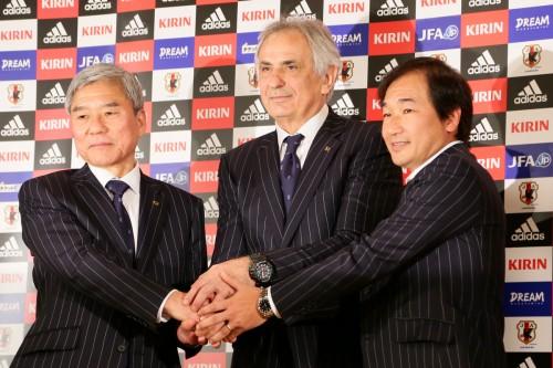 日本代表新監督ハリルホジッチ氏就任会見全文