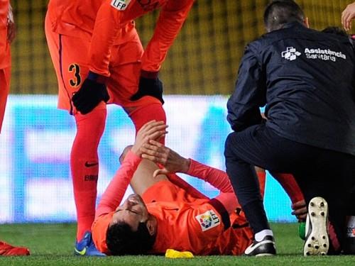 国王杯で足首のじん帯を痛めたブスケツ、次節ラージョ戦は欠場へ