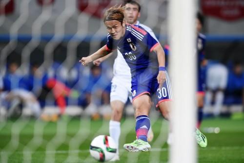 日本代表初ゴールの宇佐美貴史「長かった。やっとスタートが切れた」