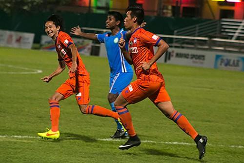 アルビレックス新潟シンガポールが4戦連続完封勝利でホーム白星
