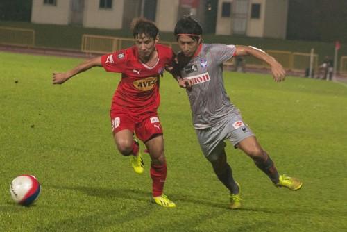 アルビレックス新潟シンガポール、連勝ストップも6戦連続完封に成功
