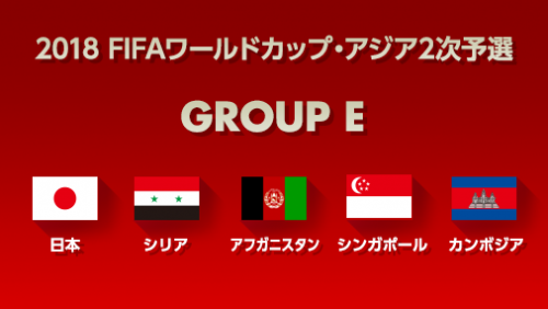 露W杯アジア2次予選組み合わせ決定…日本はシリア、アフガニスタンなどとE組に