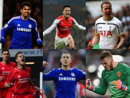 PFA年間最優秀選手の候補6名が発表…ケイン、アザール、デ・ヘアら
