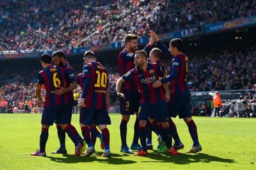 2015年に入り12勝2敗のバルセロナ、1試合平均勝ち点数は欧州トップ