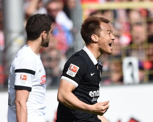昨季を上回るペースで得点する岡崎「目標はクラブ通算得点記録更新」
