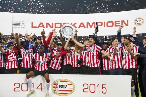 PSVがエールディヴィジ制覇…7年ぶり22度目のリーグ優勝が決定