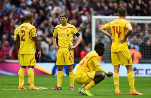 リヴァプールはFA杯決勝に一歩及ばず…アストン・ヴィラに逆転許し敗退