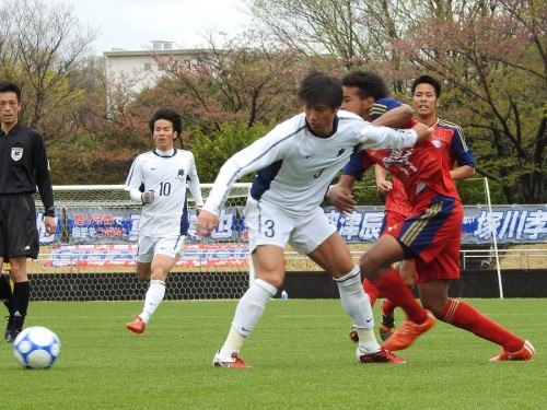 塚川孝輝の先制点を守りきり、流経大が国士舘大に勝利/関東大学リーグ