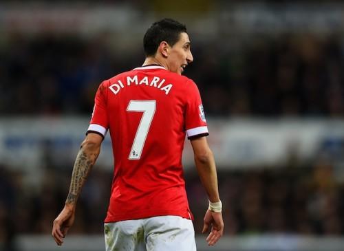 マンUへの忠誠? ディ・マリア、新たなタトゥーは背番号の「7」
