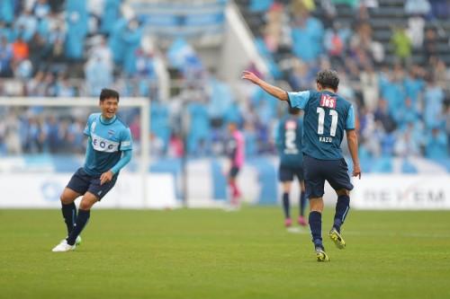 カズゴール!最年長記録を48歳1カ月10日に更新…横浜FCは逆転負け