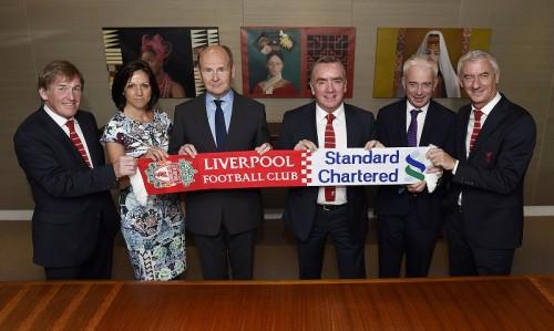 リヴァプール、スタンダードチャータード銀行とのスポンサー契約を2019年まで延長
