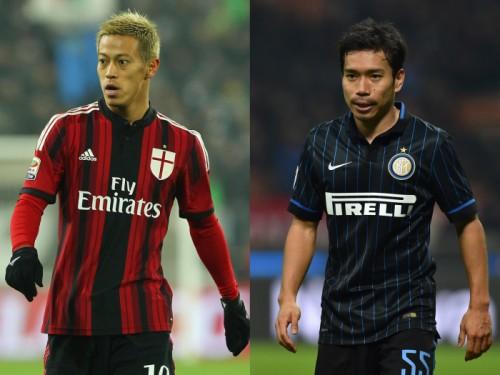 中国でミラノ・ダービーが実現…本田と長友がプレシーズンに激突か