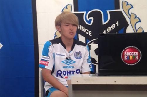 G大阪の宇佐美がCL準決勝のゴールを解説「メッシ、ハンパねーな」