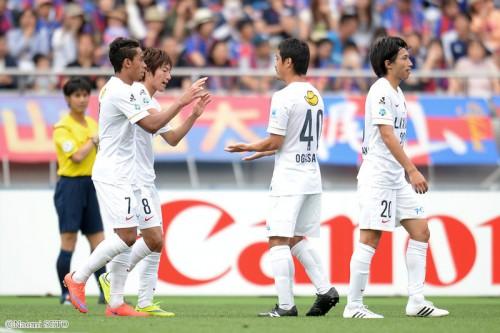 土居の決勝弾で鹿島が今季4勝目…FC東京痛恨の敗戦で連勝ストップ