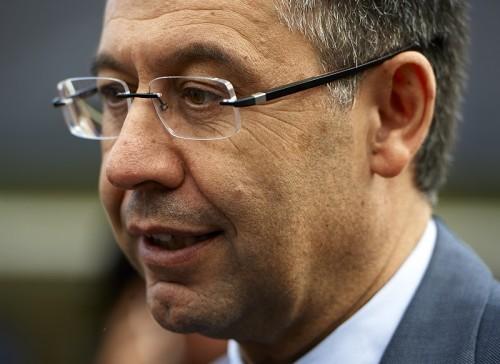 脱税疑惑のバルサ会長、次期選挙に出馬へ「悪いことはしていない」