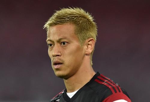 前節フル出場の本田、3試合連続で先発入りか…ローマ戦スタメン予想
