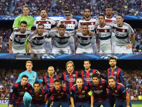 明暗分かれるバイエルンとバルサ…UEFAがCL予想先発を発表