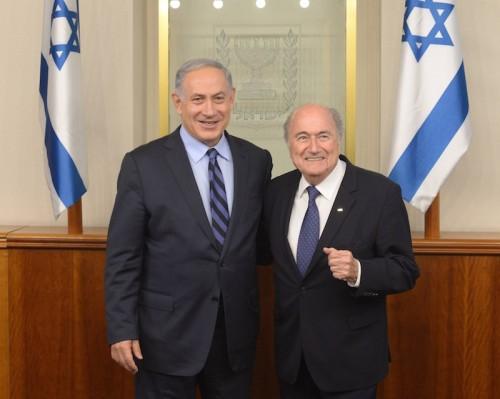 サッカーで対立緩和へ…FIFA会長がイスラエルとパレスチナの親善試合を提案