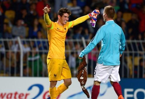 ジダンの息子が守護神として活躍…U-17フランス代表が欧州制覇