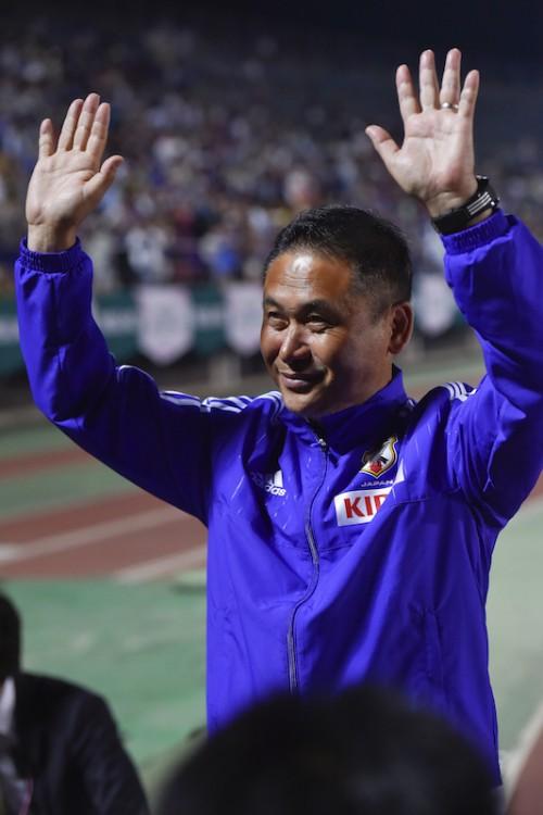 誕生日に勝利収めた佐々木監督、澤の決勝弾で「神のようなゲーム」
