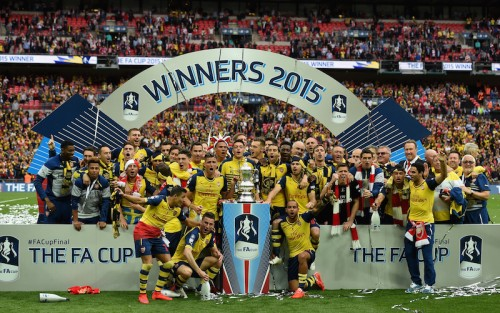 アーセナルがFAカップ2連覇…4発完勝で歴代最多12回目の優勝果たす