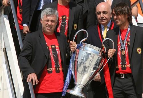 ミラン、来季の新指揮官候補にレアルのアンチェロッティ監督ら浮上