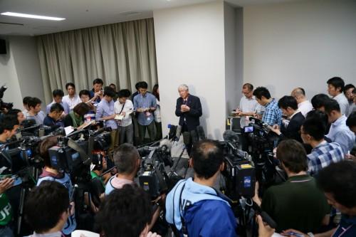 元FIFA理事の小倉JFA名誉会長「ブラッターの責任がゼロとは思わない」